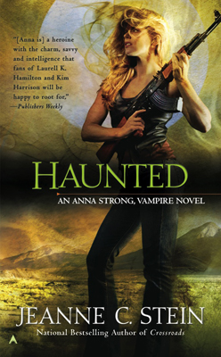 Haunted by Jeanne C Stein--cover
